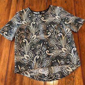 Topshop Paisley T-Shirt